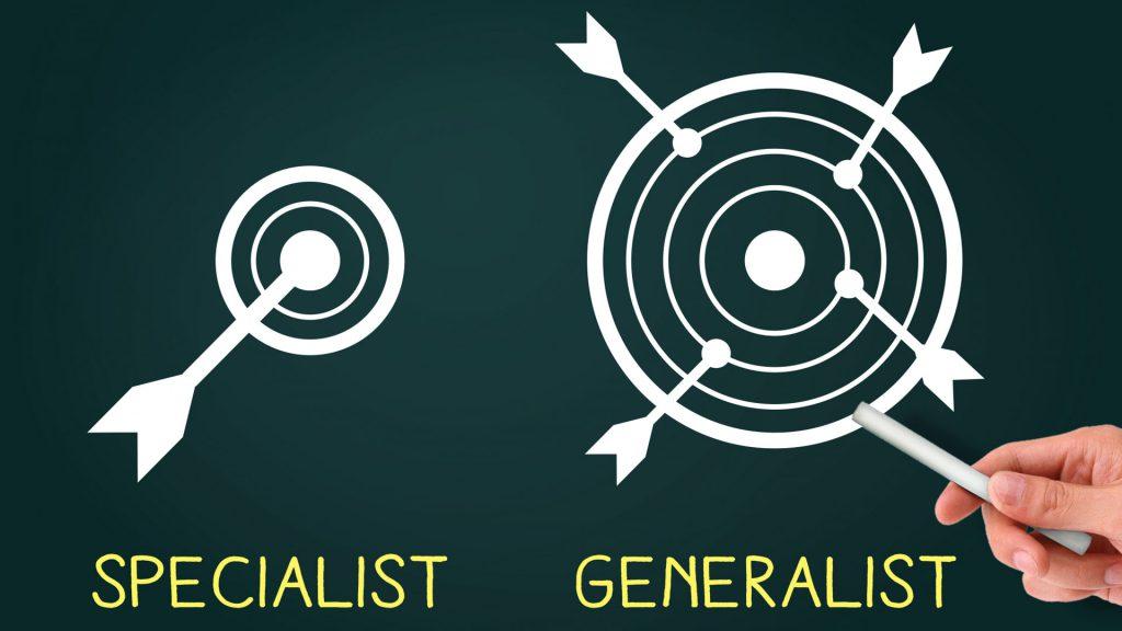 スペシャリストとジェネラリストの違い